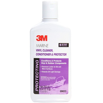 3M Marine Vinyl Cleaner, Conditioner & Protector (09023) For Boats