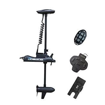 Black Haswing Bow Mount Electric Trolling Motor Fresh&Saltwater