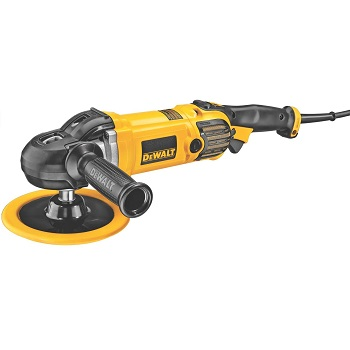 DEWALT Buffer/Polisher, Variable Speed, Soft Start, 7-Inch/9-Inch