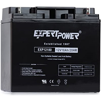 ExpertPower EXP12180 12V 18AH Lead Acid Battery 2 Pack
