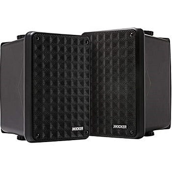 Kicker KB6 2-Way Full Range Indoor Outdoor Speakers