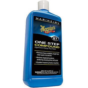 Meguiar's M6732 Marine Polish One Step Compound 32 oz