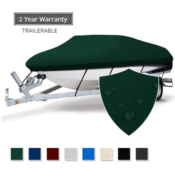 Seamander Trailerable Runabout Boat Cover
