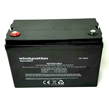 WindyNation 100 amp-Hour 100AH 12V AGM Battery