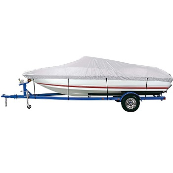 iCOVER Trailerable Boat Cover Heavy Duty Waterproof UV Resistant