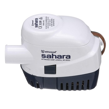 Attwood 4511-7 Sahara S1100 Automatic Bilge Pump