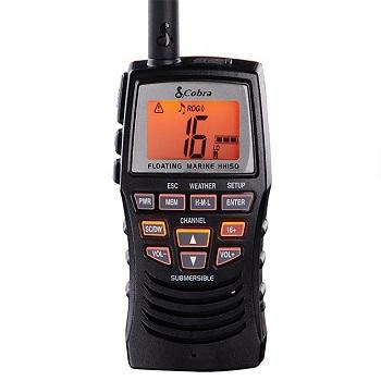 Cobra Marine Radio MRHH150FLT Floating Handheld VHF Radio