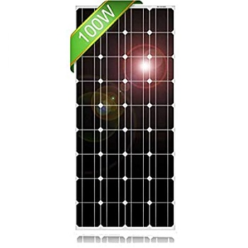DOKIO 100 Watt 12V Solar Panel Marine Boat Off Grid