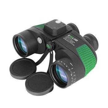 ESSLNB Marine Binoculars Compass Rangefinder 7x50 Waterproof