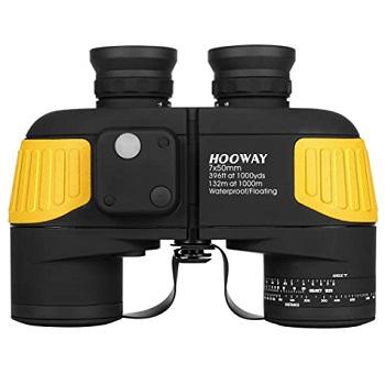 Hooway 7x50 Waterproof Fogproof Military Marine Binoculars
