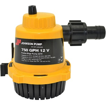 Johnson Pumps Of America PROLINE Bilge Pump 750 GPH 3A