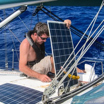Maintenance & Safety Tips For Marine Solar Panels