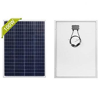 Newpowa 100 Watts 12 Volts Polycrystalline Solar Panel Marine