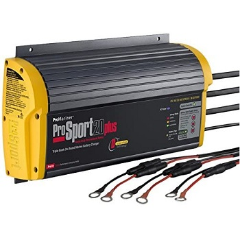 ProMariner 43021 ProSport 20 Amp 3 Bank Battery Charger