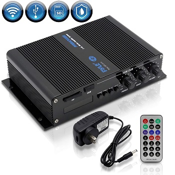 Pyle 2-Channel Bluetooth Audio Marine Amplifier
