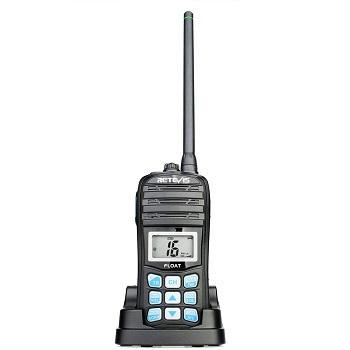 Retevis RT55 Floating Handheld Marine Radio VHF Waterproof