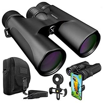 Stellax ZoomX Binoculars 10x42 Waterproof Lightweight Prism BAK4