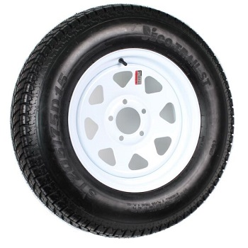 eCustomRim Trailer Tire On Rim ST205/75D15