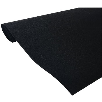 "CPR Marine Upholstery Durable Carpet 72"" x 36"" Mini Roll (Black)"