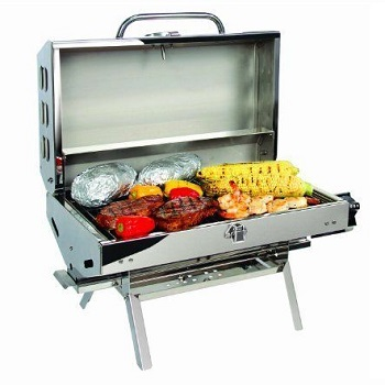 Camco 57305 Olympian 5500 Stainless Steel Portable Boat Grill