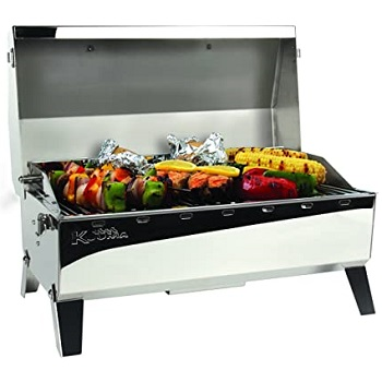 Kuuma Stow and Go Propane Mountable Grill Great for Boating