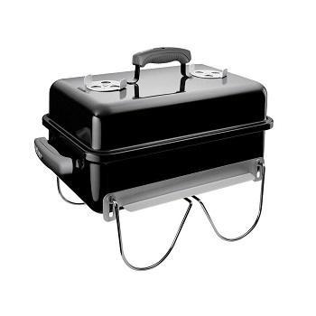 Weber 121020 Go-Anywhere Charcoal Grill Black