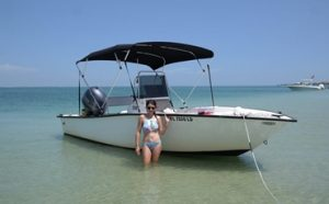 How to Anchor Your Boat at a Beach Featured
