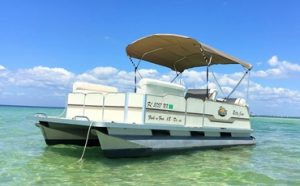How to Anchor a Pontoon Boat Featured