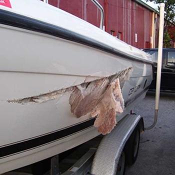 How Can You Repair a Fiberglass Boat Leak